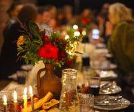 Abstraktes Bild einer feierlichen Tabelle Lizenzfreie Stockfotografie