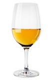 Abstraktes Bild eines Glases Weins Lizenzfreie Stockfotos