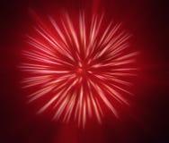Abstraktes Bild, unscharfe Feuerwerke Stockfotos
