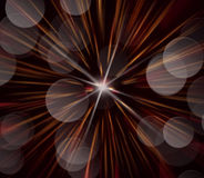 Abstraktes Bild, unscharfe Feuerwerke Stockfoto