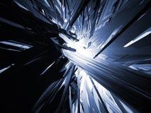 Abstraktes Blau Stockfotos