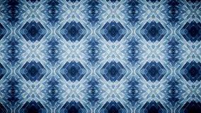Abstraktes Blau blockiert Mustertapete Stockfotografie