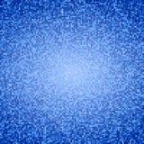 Abstraktes Blau quadriert Hintergrund Lizenzfreie Stockfotografie