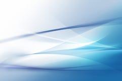 Abstraktes Blau verschleiert Hintergrundbeschaffenheit Lizenzfreie Stockfotografie