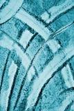 Abstraktes blaues Aquarell auf Papierbeschaffenheit als Hintergrund Christm Lizenzfreie Stockfotografie