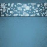 Abstraktes blaues Blasenhintergrundwebdesign Lizenzfreies Stockfoto