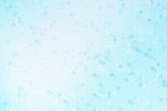 Abstraktes blaues Buntglas Stockbild