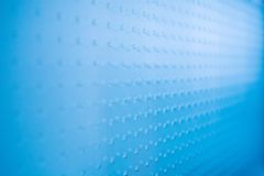 Abstraktes blaues Glasbackgound Stockfoto