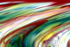 Abstraktes blaues Goldrote Farben und -hintergrund Zeilen in der Bewegung Stockfoto