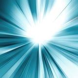Abstraktes blaues Konzept Stockfoto