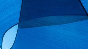 Abstraktes blaues Muster und Hintergrund Stockfotografie
