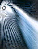 Abstraktes blaues tunel lizenzfreie stockbilder