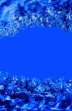 Abstraktes blaues Wasser Lizenzfreie Stockfotografie
