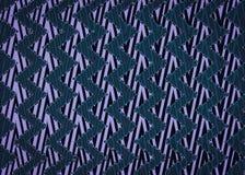 Abstraktes blaues Zickzackmuster Stockfoto