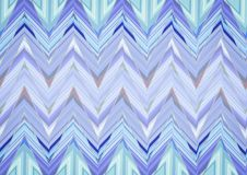 Abstraktes blaues Zickzackmuster Lizenzfreie Stockfotografie