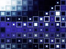 Abstraktes Blaulicht stockbilder