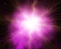 Abstraktes Blitzlicht Stockfoto