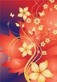 Abstraktes Blumen Lizenzfreies Stockfoto