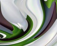 Abstraktes Blumen-Muster Lizenzfreie Stockbilder