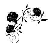 Abstraktes Blumenelement für Auslegung Lizenzfreie Stockbilder