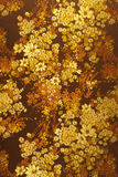 Abstraktes Blumengewebemuster Stockbild