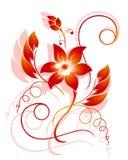 Abstraktes Blumenmuster Lizenzfreie Stockbilder