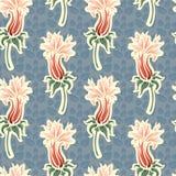Abstraktes Blumenmuster Stockfotos