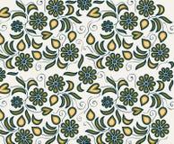 Abstraktes Blumenmuster Lizenzfreies Stockbild