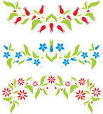 Abstraktes Blumenmuster Stockfotografie