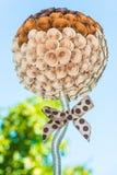 Abstraktes Blumenpapier Stockfotos