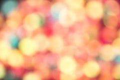 Abstraktes Bokeh Stockbild