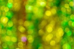 Abstraktes bokeh des Lichtes Stockfotos