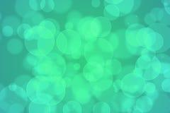 Abstraktes bokeh Design auf einem schwarzen Hintergrund Lizenzfreies Stockfoto