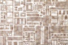 Abstraktes bokeh Hintergrund der Rechtecke Lizenzfreie Stockbilder
