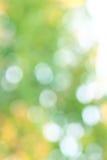 Abstraktes bokeh kreist Hintergrund ein Lizenzfreies Stockbild