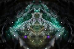 Abstraktes bokeh Licht Stockbilder