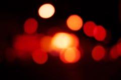 Abstraktes bokeh/unscharfer Hintergrund Defocused Kreislichter Stockfoto