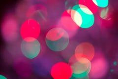 Abstraktes Bokeh unscharfes Farblicht kann Hintergrund benutzen Stockfotografie