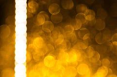 Abstraktes bokeh - vollkommener Weihnachtshintergrund Lizenzfreie Stockfotografie