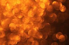 Abstraktes bokeh - vollkommener Weihnachtshintergrund Stockbild