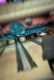Abstraktes Bowlingspiel Lizenzfreie Stockfotografie
