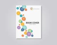 Abstraktes Buch- und BroschürenAbdeckung Schablone Design editable Lizenzfreies Stockfoto