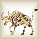 Abstraktes Bull Lizenzfreies Stockbild