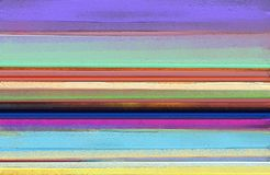 Abstraktes buntes Ölgemälde auf Segeltuchbeschaffenheit Abstrakte zeitgenössische Kunst für Hintergrund stockbild
