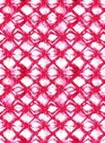 Abstraktes buntes Blockdruckmuster stockfotos