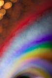 Abstraktes buntes bokeh Hintergrund-Formlicht Stockfotos