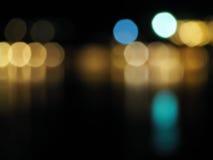 Abstraktes buntes bokeh und undeutlicher Hintergrund Lizenzfreie Stockfotografie