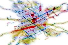 Abstraktes buntes Design in der Blitzform, abstrakter Hintergrund Lizenzfreie Stockfotos