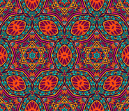 Abstraktes buntes grafisches Mosaikvektormuster Lizenzfreie Stockfotos