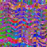 Abstraktes buntes Hintergrunddesign w des hellen Lichts vibrierendes Farb Lizenzfreie Stockbilder